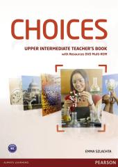Choices Upper-Intermediate Teacher's Book with DVD Multi-Rom (книга вчителя) - фото обкладинки книги