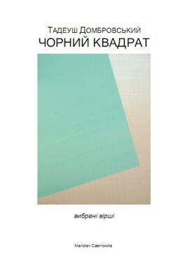 Чорний квадрат - фото книги