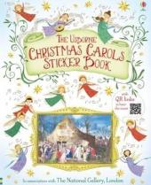 Christmas Carols Sticker Book - фото обкладинки книги