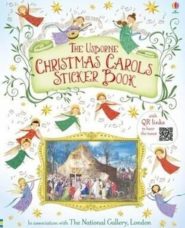 Christmas Carols Sticker Book - фото книги