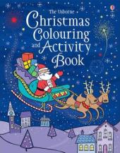 Christmas Colouring and Activity Book - фото обкладинки книги