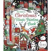Christmas Magic Painting Book - фото обкладинки книги