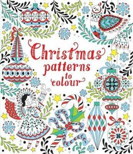 Christmas Patterns to Colour - фото книги