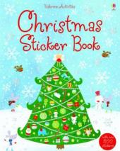 Christmas Sticker Book - фото обкладинки книги