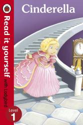Cinderella - Read it yourself with Ladybird : Level 1 - фото обкладинки книги
