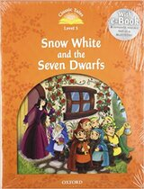 "Книга ""Classic Tales 2nd Edition 5: Snow White and the Seven Dwarfs with MultiROM"""