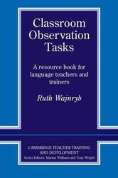 Classroom Observation Tasks : A Resource Book for Language Teachers and Trainers - фото обкладинки книги