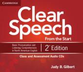 Clear Speech 2nd Edition. Class and Assessment Audio CDs - фото обкладинки книги