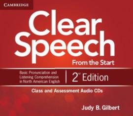 Clear Speech 2nd Edition. Class and Assessment Audio CDs - фото книги