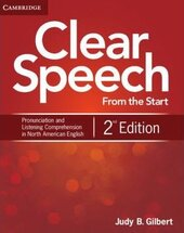 Clear Speech  2nd Edition. Student's Book Pronunciation and Listening - фото обкладинки книги