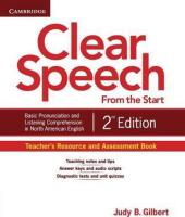 Clear Speech  2nd Edition. Teacher's Resource and Assessment Book - фото обкладинки книги