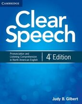Clear Speech 4th Edition. Student's Book Pronunciation and Listening - фото обкладинки книги