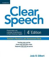 Clear Speech 4th Edition. Teacher's Resource and Assessment Book - фото обкладинки книги