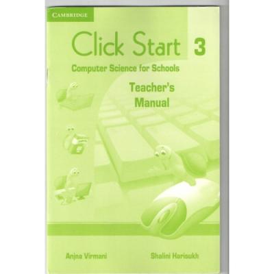 Книга для вчителя Click Start 3 Teacher's Manual with DVD-ROM
