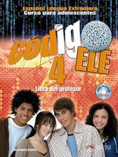 Codigo ELE 4: Libro del profesor + CD audio GRATUITA - фото обкладинки книги