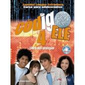 Codigo Ele : libro del profesor + ejercicios + CD audio 4 - фото обкладинки книги