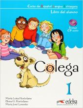 Colega 1. Libro del alumno + CD Pack Gratuita - фото обкладинки книги