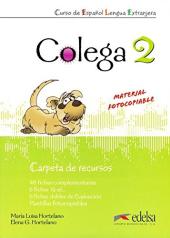 Colega 2. Carpeta de recursos (додаткові дидактичні матеріали) - фото обкладинки книги