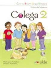 Colega 2. Libro del alumno + CD audio - фото обкладинки книги