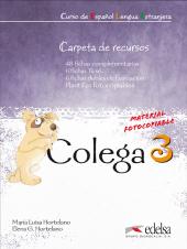 Colega 3. Carpeta de recursos (додаткові дидактичні матеріали) - фото обкладинки книги