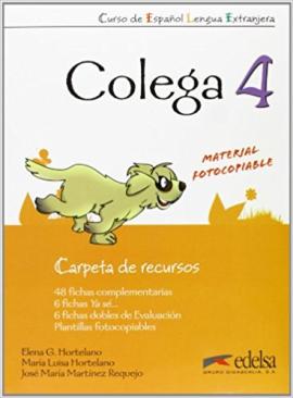 Colega 4. Carpeta de recursos (додаткові дидактичні матеріали) - фото книги