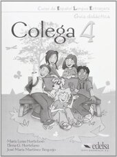Colega 4. Guia didactica - фото обкладинки книги
