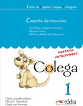 Colega : Carpeta De Recursos (Resources for the Teacher) 1 - фото книги