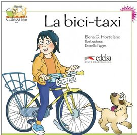 Colega Lee 2. 1/2 La bici-taxi! (читанка) - фото книги