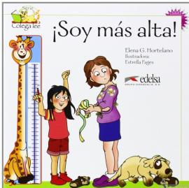 Colega Lee 2. 3/4 Soy mas alta (читанка) - фото книги