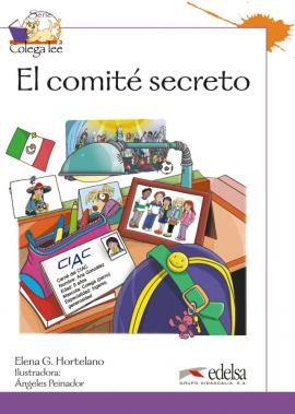 Colega Lee 3. 1/2 El comite secreto (читанка) - фото книги