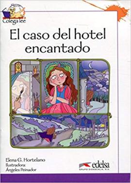 Colega Lee 3. 3/4 El caso del hotel encantado (читанка) - фото книги