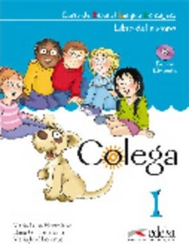 Colega : Libro del alumno + CD 1 - фото книги