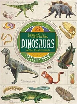 Collection of Curiosities: Dinosaurs - фото книги