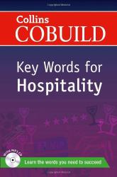 Collins Cobuild Key Words for Hospitality with Mp3 CD - фото обкладинки книги