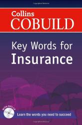Посібник Collins Cobuild Key Words for Insurance with Mp3 CD