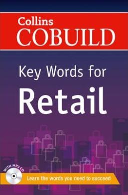 Посібник Collins Cobuild Key Words for Retail with Mp3 CD