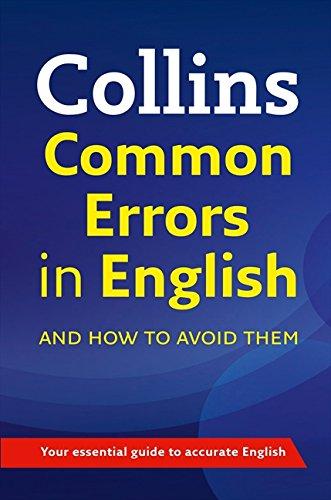 Книга Collins Common Errors in English