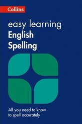 Collins Easy Learning English Spelling - фото обкладинки книги