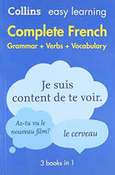 Collins Easy Learning French Complete Grammar, Verbs and Vocabulary (3 books in 1) - фото обкладинки книги