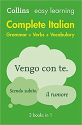 Collins Easy Learning Italian Complete Grammar, Verbs and Vocabulary (3 books in 1) - фото обкладинки книги