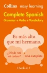 Collins Easy Learning Spanish Complete Grammar, Verbs and Vocabulary (3 books in 1) - фото обкладинки книги