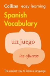Collins Easy Learning: Spanish Vocabulary - фото обкладинки книги