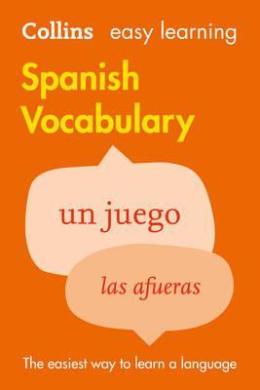 Collins Easy Learning: Spanish Vocabulary - фото книги