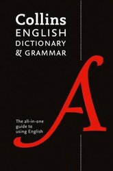 Collins English Dictionary and Grammar: The All-in-One Guide with 200,000 Words and Phrases - фото обкладинки книги