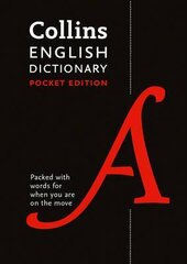 Collins English Dictionary Pocket edition: 85,000 Words and Phrases in a Portable Format - фото обкладинки книги
