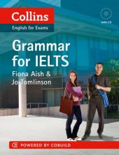 Collins English for IELTS: Grammar with CD - фото обкладинки книги