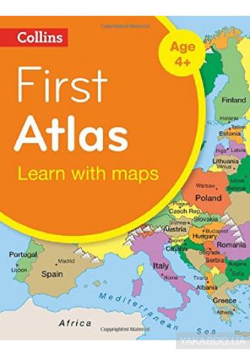 Посібник Collins First Atlas
