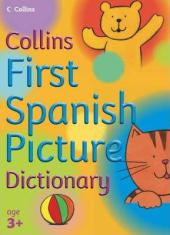Collins First Spanish Picture Dictionary - фото обкладинки книги