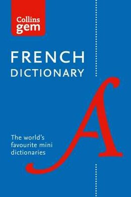 Collins French Gem Dictionary - фото книги