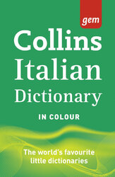 Collins Gem Italian Dictionary 9th Edition - фото обкладинки книги